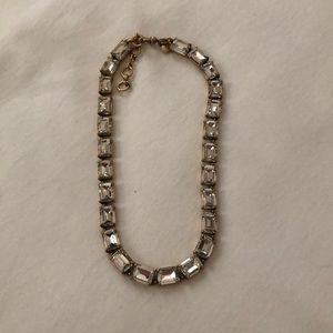 J.Crew Crystal Choker Necklace